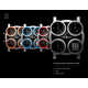 Headlight Watch Faces - The QUAD Watch is Inspired by the Porsche Panamera's Headlamps (GALLERY) 1