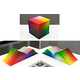 Giant Rainbow Encyclopedias - The RGB Colorspace Atlas Physically Depicts All the Hues in the World (GALLERY) 3