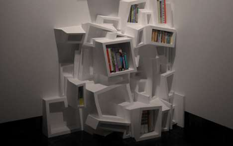Experimental Bookshelves