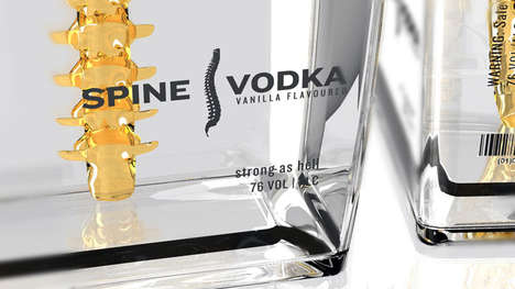 Spine Vodka Packaging