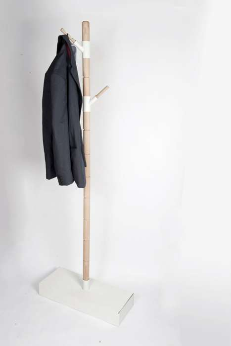 Storable Coat Rack