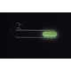 Lit-Up Locatable Doorknobs - Peek Door Handle Takes the Guesswork of Nighttime Interior Navigation (GALLERY) 1