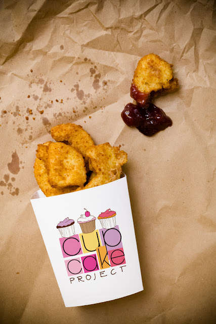 Fast Food Decoy Desserts - These Cupcake Nuggets Offer a Sweet Take on the Crisp Chicken Snack