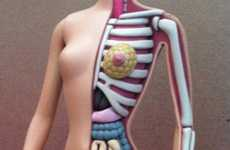 Anatomy-Showing Dolls - The Jason Freeny Dissecting Barbie Collection Reveals the Doll's Insides