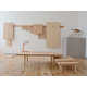 Wall-Mounted Furniture - The Wood Peg Collection by Studio Gorm Comes Apart by Hand (GALLERY) 1