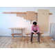 Wall-Mounted Furniture - The Wood Peg Collection by Studio Gorm Comes Apart by Hand (GALLERY) 8