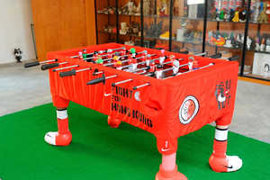 The Nike Hong Kong Foosball Table is Dragon-Inspired