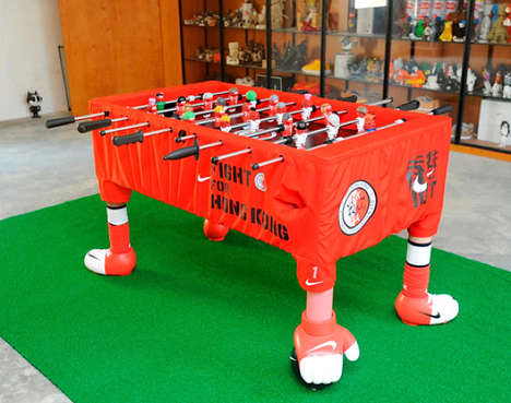 Nike Hong Kong Foosball Table