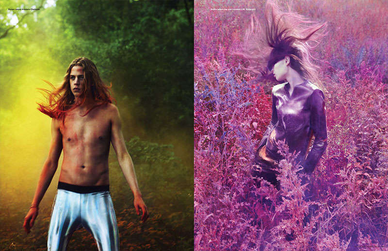 Psychedelic Nature Editorials