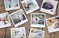 DIY Polaroid Coasters - Darkroom and Dearly's Salvers Are Hands-on