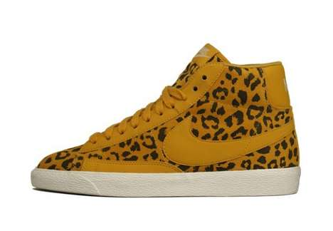Leopard Print Nike Blazer