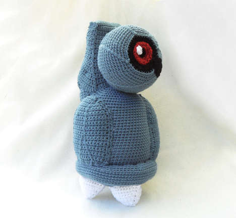 Crocheted Pokemon Toys