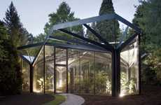 Elegant Tree-Framed Conservatories