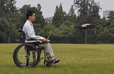 Brain-controlled Quadcopters