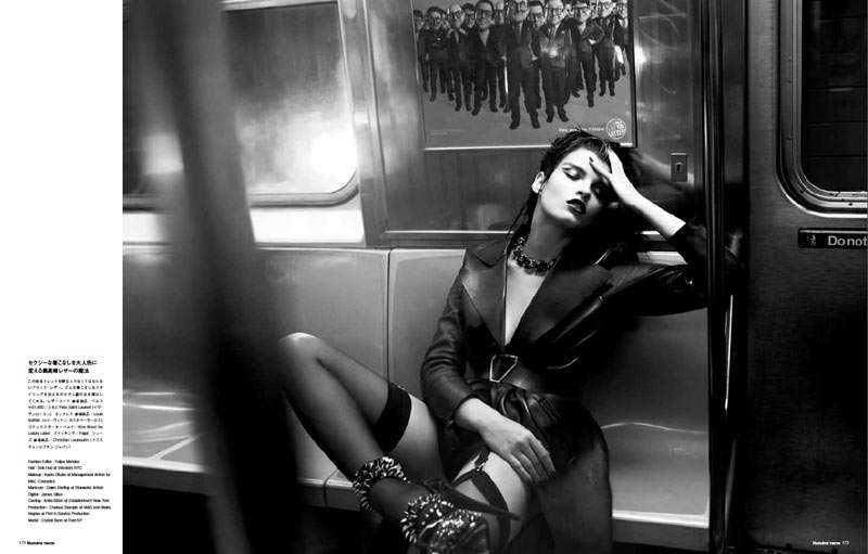 Sultry Subway Photoshoots