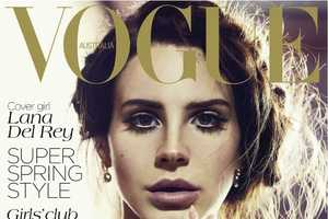 The Vogue Australia Lana Del Rey Cover Smolders with Soft Poise