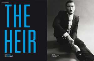 'The Heir' Editorial in Dsection Magazine Showcases a Poised Gentleman