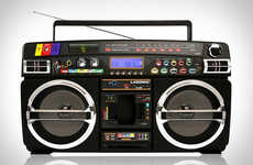 Modernized Ghetto Radios - The Lasonic Bluetooth Boombox is the Best of Two Generations
