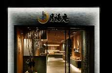 Linear Element Eateries - The Tsukiage-An Restaurant Stays True to its Japanese Culture