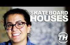 Skateboard Houses