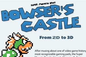 The Real-Life Bowser's Castle Infographic Goes From 2D t