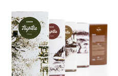 Infusion Art Branding - TripTea Packaging Creatively Indulges the Sense of Sight