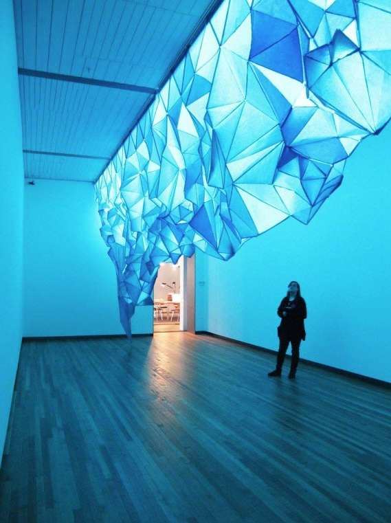 Paper Iceberg Installations