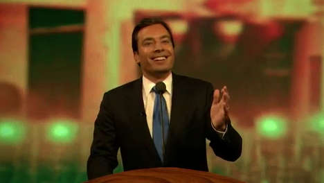 Comedian Twin Gags - Jimmy Fallon Spoofs Julian Castro's DNC Speech After Twitter Comparisons