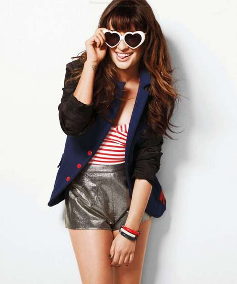 Lea Michele for Nylon September 2012