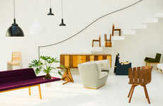 Eccentrically Shaped Furniture