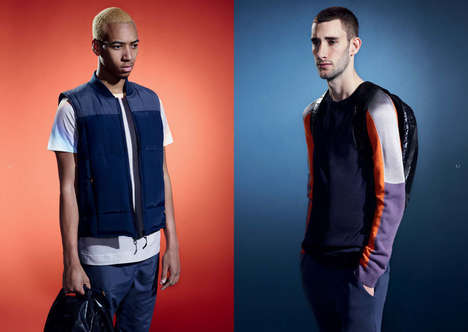 Streamlined Sportswear Collaborations - The Asos Black x Puma Collection Marries Style and Function