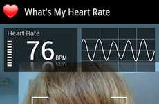 Health-Monitoring Apps - What's My Heart Rate? Measures Simply by Looking at Your Phone