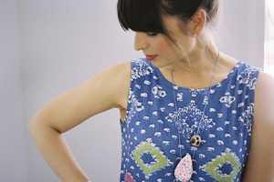 The Jennifer Parry Dodge Ermie Collection Incorporates Bright Designs