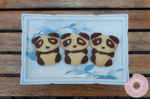 The Hungry at Midnight Panda Cookies are Almost Too Cute to Eat