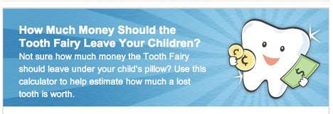 Child Tooth Appraisals - Visa Tooth Fairy App Helps Parents Decide How Much Money to Leave Kids