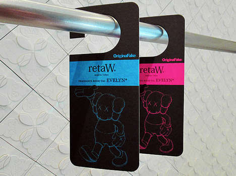 Original Fake retaW Room Tags