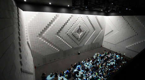 Pulsating Theater Walls - The Hyper-Matrix by Jonpasang is the Future of Movie Cinemas