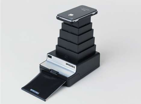 Smartphone Polaroid Cameras - The Impossible Instant Lab Turns iPhone Images into Real Photos