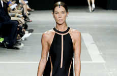 Symmetrically Sliced Clothing - The Alexander Wang Spring Ready-to-Wear Collection