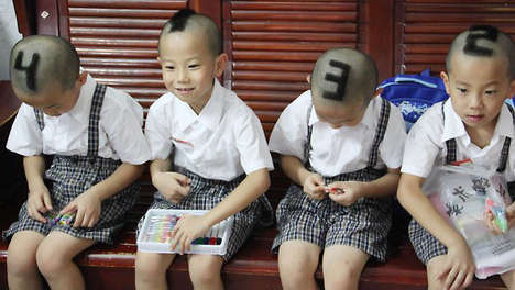 Numbered Haircuts