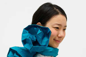 The Origami Scarf by Monomatopee is Perfect for Busy Fingers