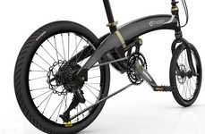 Portable Powered Two-Wheelers - Neo Volt Folding E-Bike Enables the Ultimate in Effortless Cycling