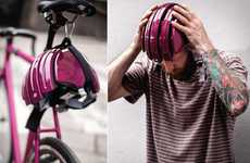 Adjustable Cyclist Head Protectors - The Folding Helmet by Carrera Fits Any Head for Max Protection