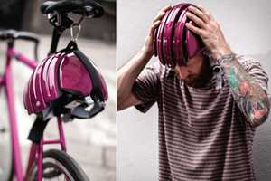 The Folding Helmet by Carrera Fits Any Head for Max Protection