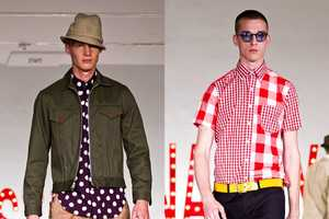 Mark McNairy Spring/Summer 2013 Puts on a Playful Patterned Show