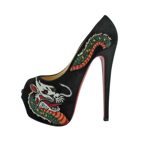 Christian Louboutin Tattoo Highness