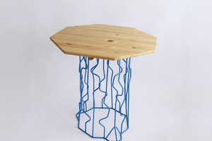 The Wired Stump Outdoor Furniture by Peter Jakubik Looks 90s-Inspired