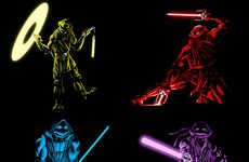Neon Reptilian Force Wielders
