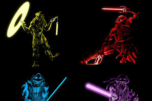 Teenage Mutant Jedi Turtles Mash Up Sci-Fi Franchises