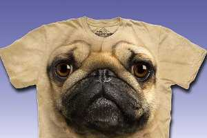 The Big Face Animals T-Shirt Collection by The Mountain is Realistic